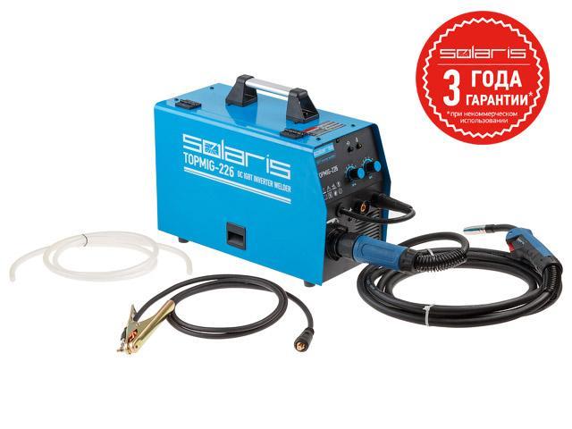 Solaris TOPMIG-226 (MIG/MAG/FLUX) с горелкой 3м
